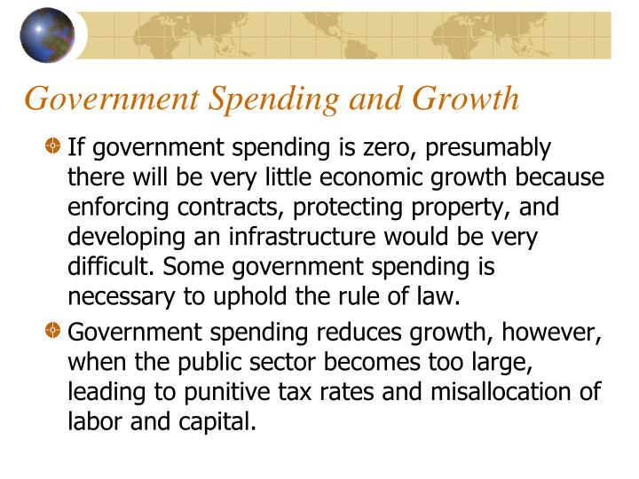 Government Spending and Growth