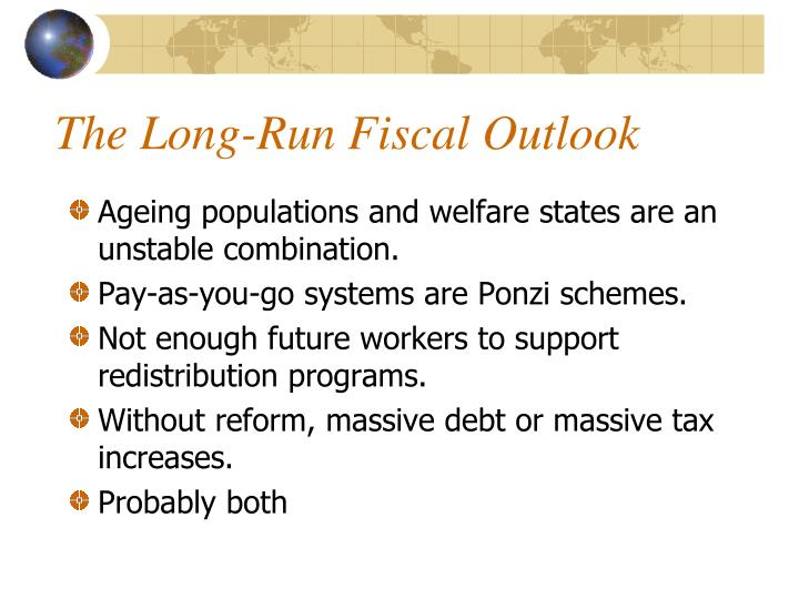 The Long-Run Fiscal Outlook