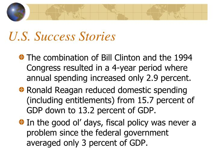 U.S. Success Stories