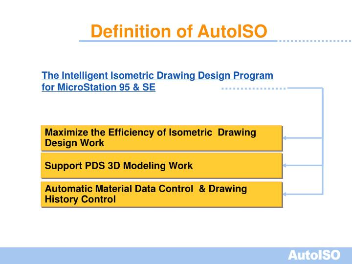 Definition of autoiso