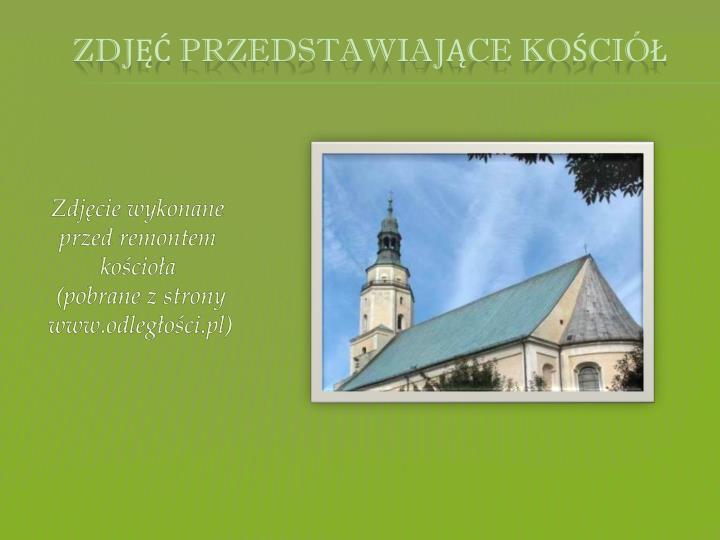 zdjęć przedstawiające kościół