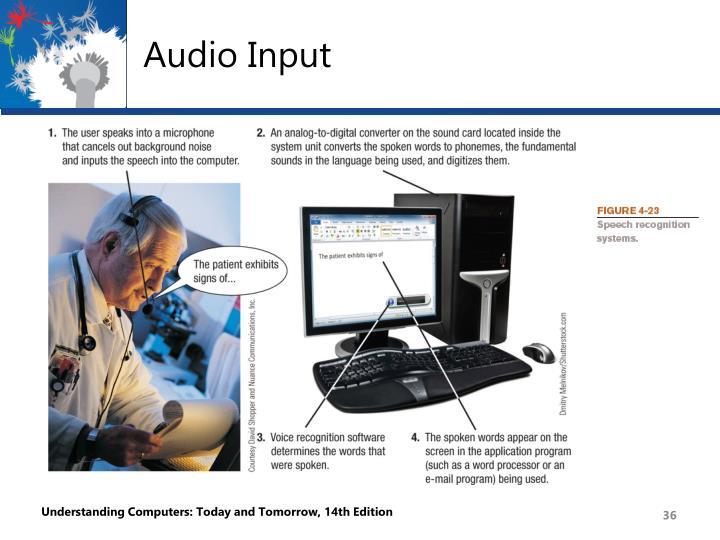 Audio Input