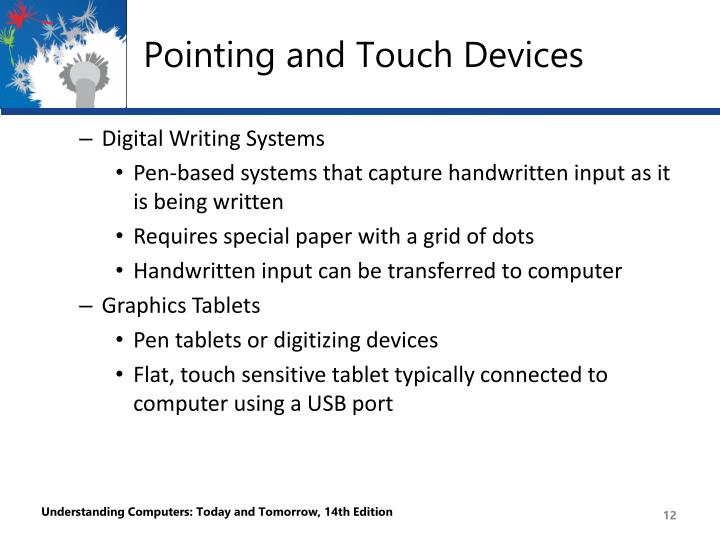 Pointing and Touch Devices