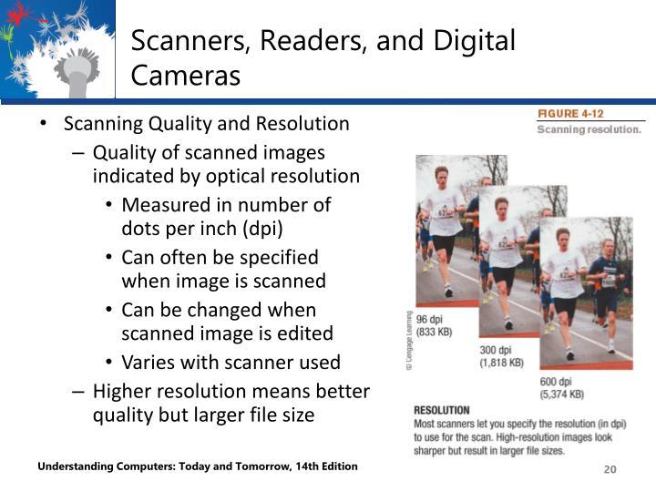 Scanners, Readers, and Digital Cameras