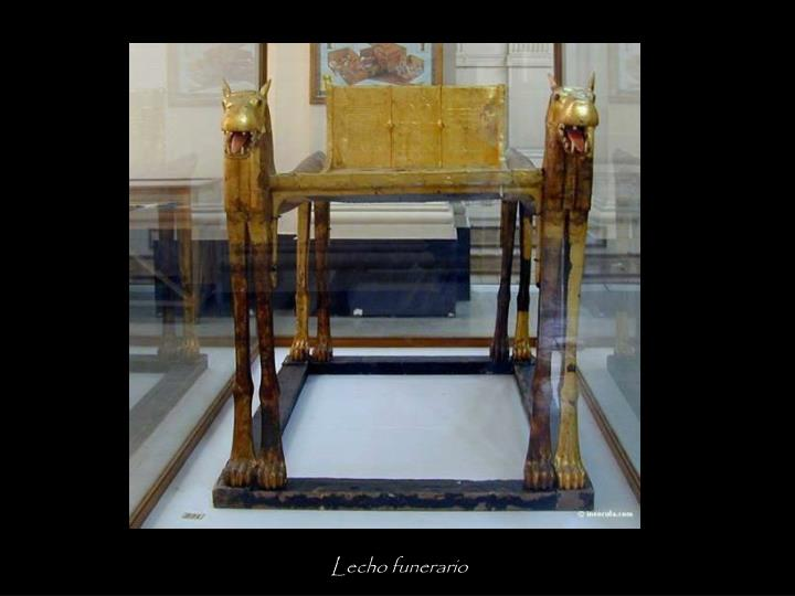 Lecho funerario