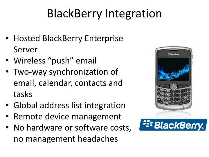 BlackBerry Integration