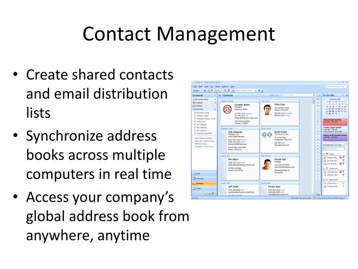 Contact Management