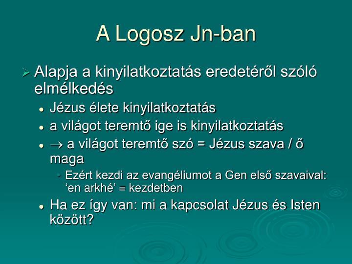 A Logosz Jn-ban