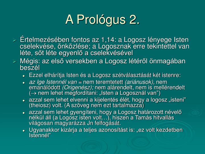 A Prológus 2.