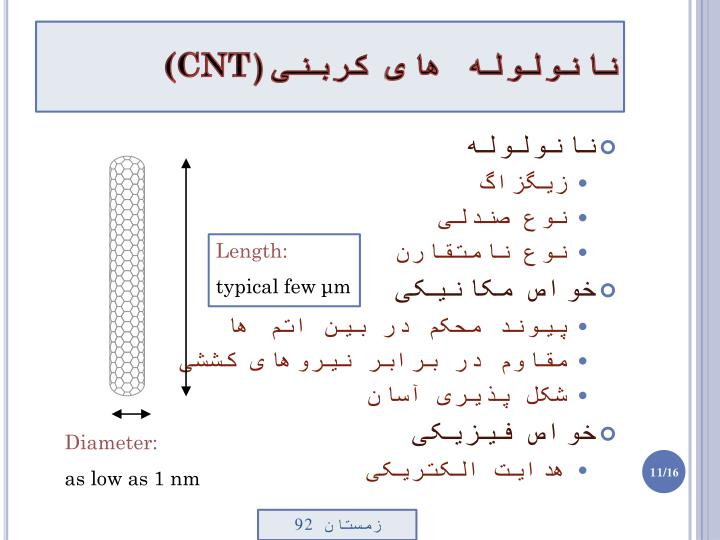 نانولوله های کربنی