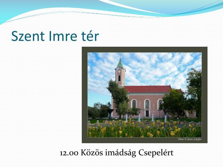 Szent Imre tér
