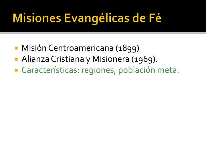Misiones Evangélicas de