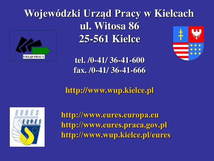 Wojewódzki Urząd Pracy wKielcach
