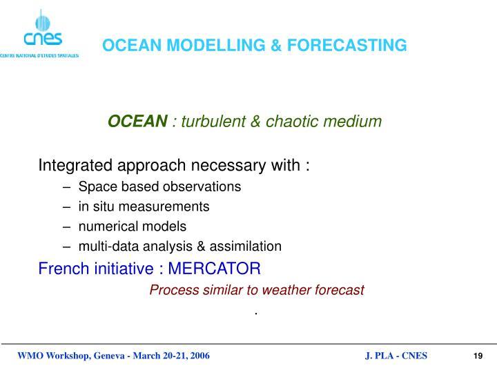 OCEAN MODELLING & FORECASTING