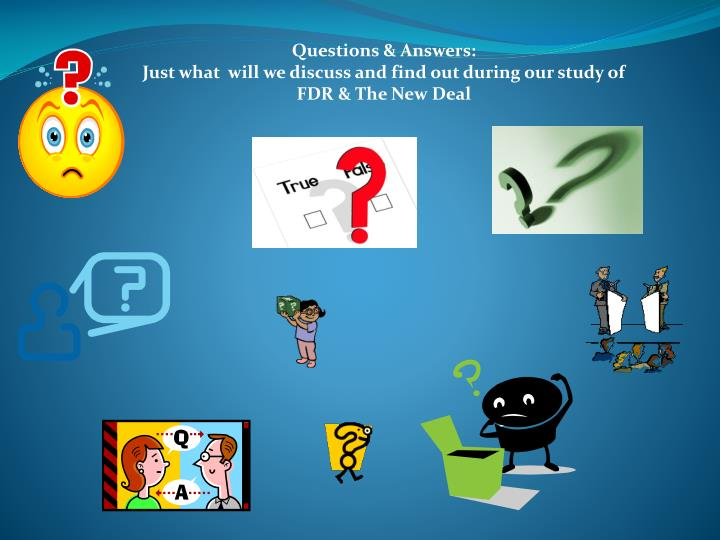 Questions & Answers: