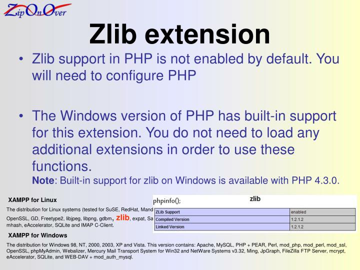 Zlib extension