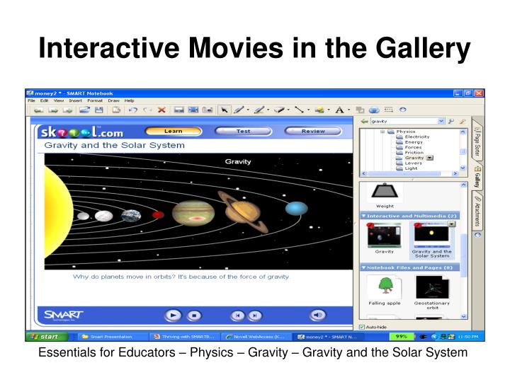 Interactive Movies in the Gallery