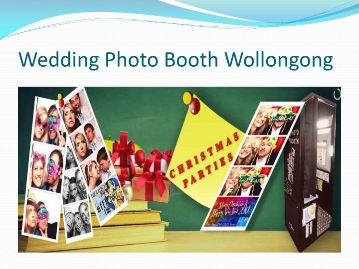 Wedding Photo Booth Wollongong