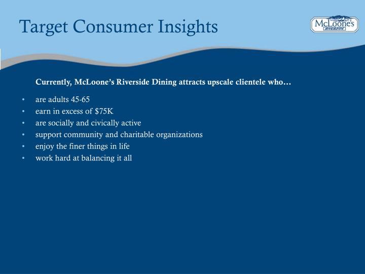 Target Consumer Insights