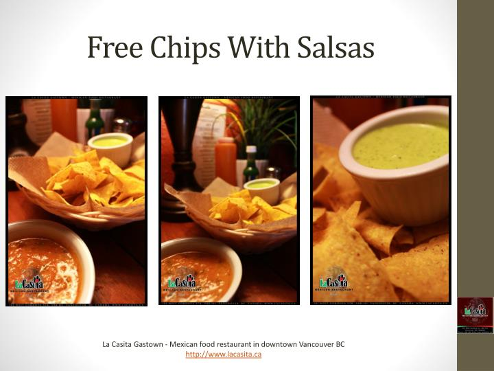 Free Chips With Salsas