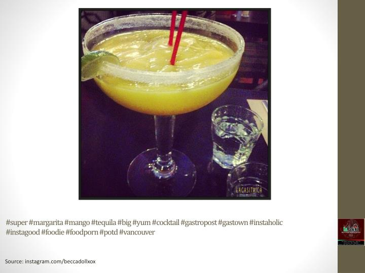 #super #margarita #mango #tequila #big #yum #cocktail #