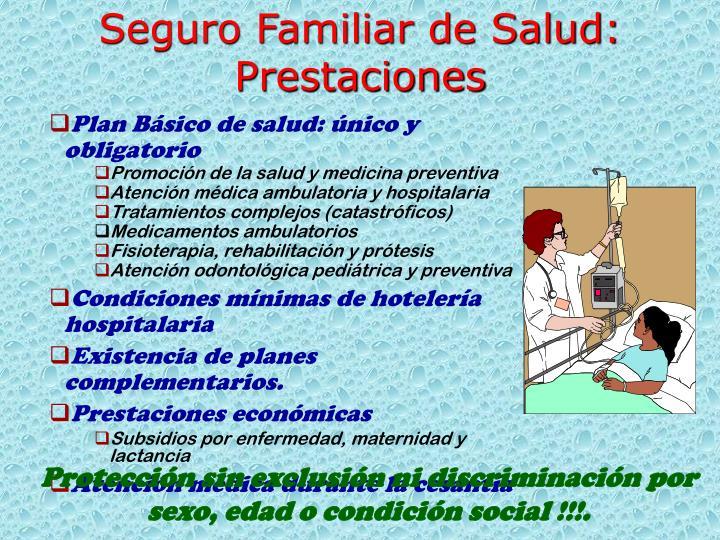Seguro Familiar de Salud: