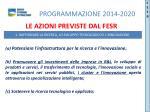 programmazione 2014 20204