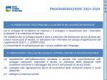 programmazione 2014 20209