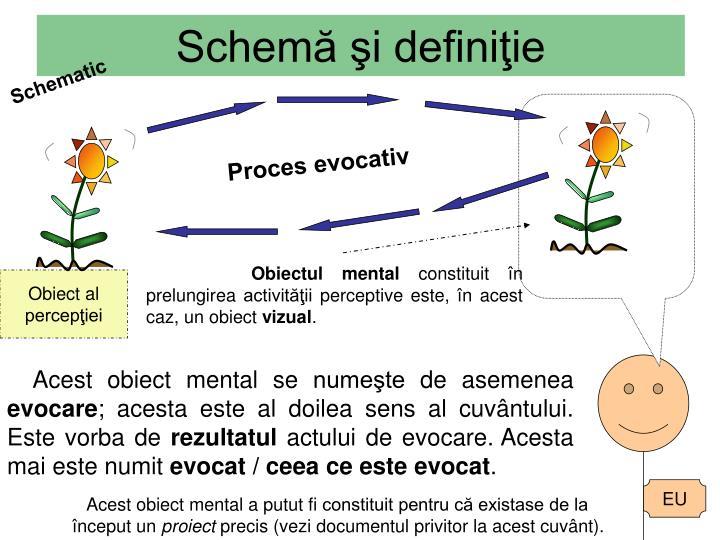 Schemă şi definiţie