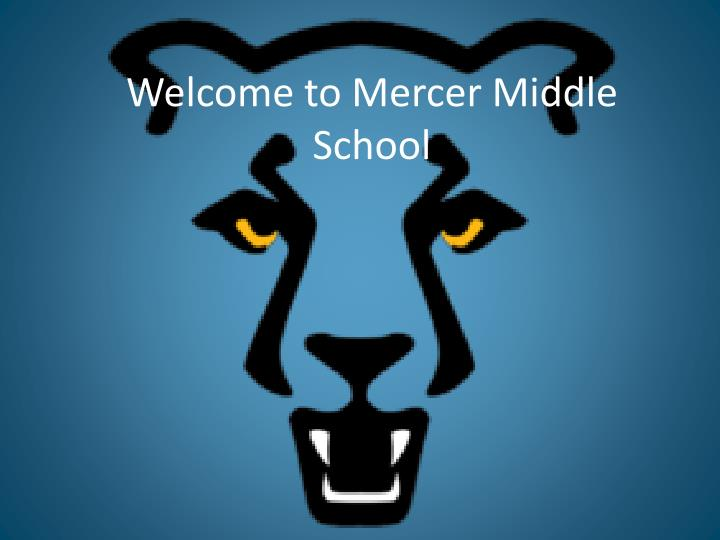 Welcome to Mercer Middle School