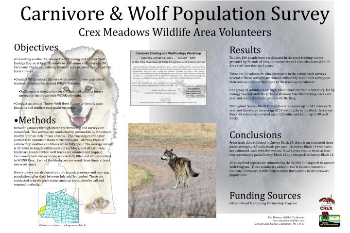 Carnivore & Wolf Population Survey