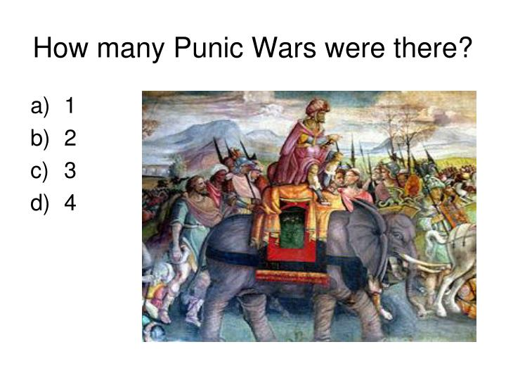 How many Punic Wars were there?