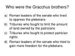 who were the gracchus brothers