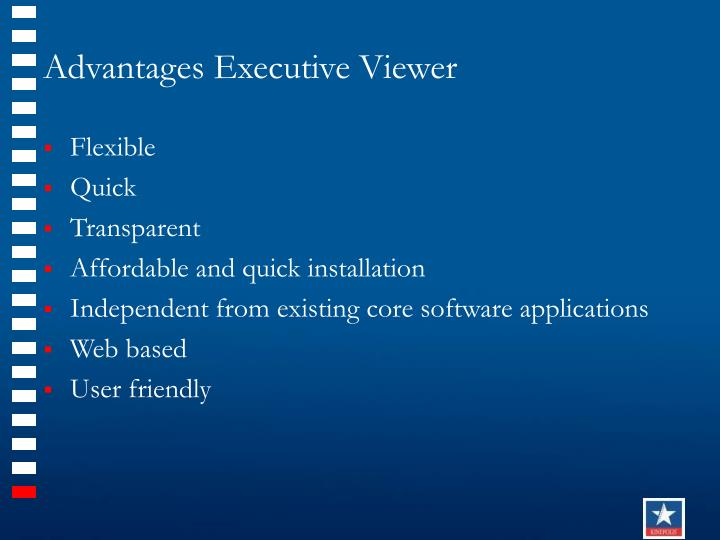 Advantages Executive Viewer