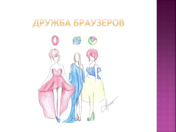 Дружба браузеров