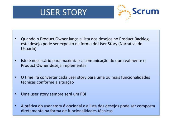 USER STORY