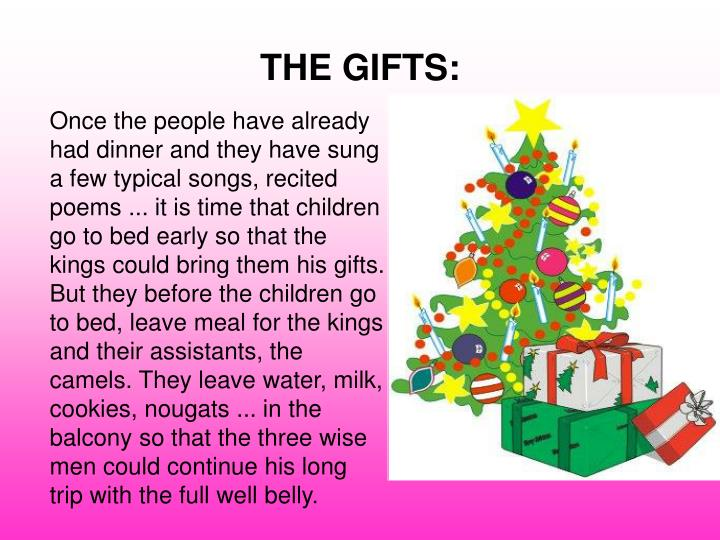 THE GIFTS: