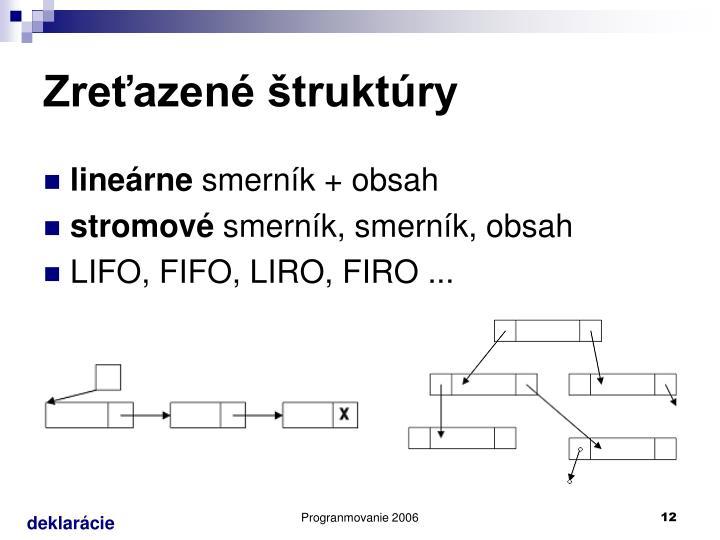 Zreťazené štruktúry