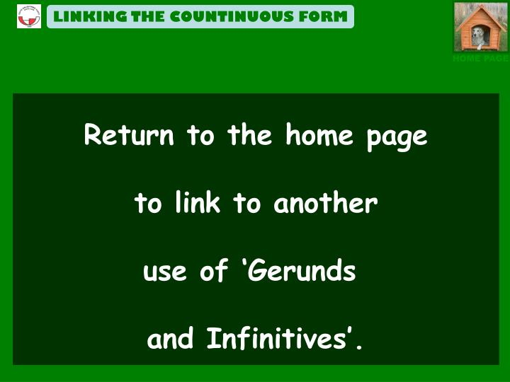 LINKING THE COUNTINUOUS FORM