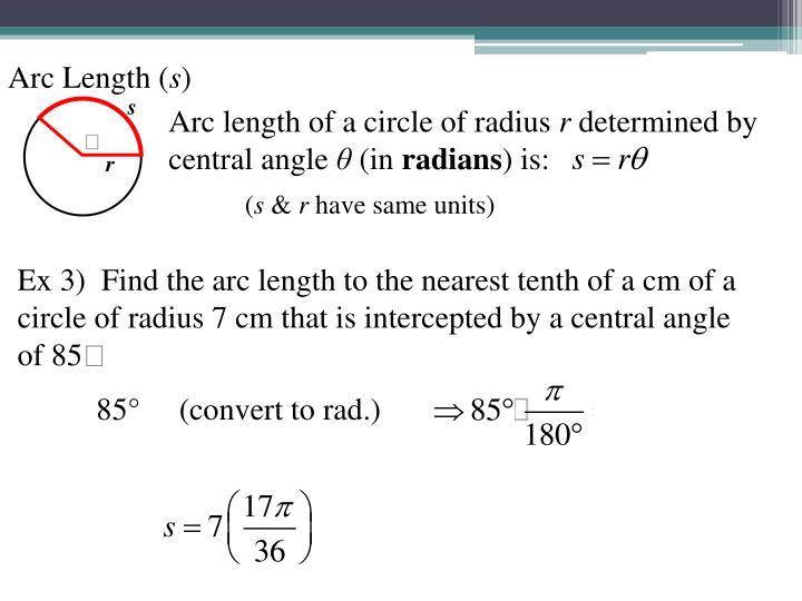 Arc Length (