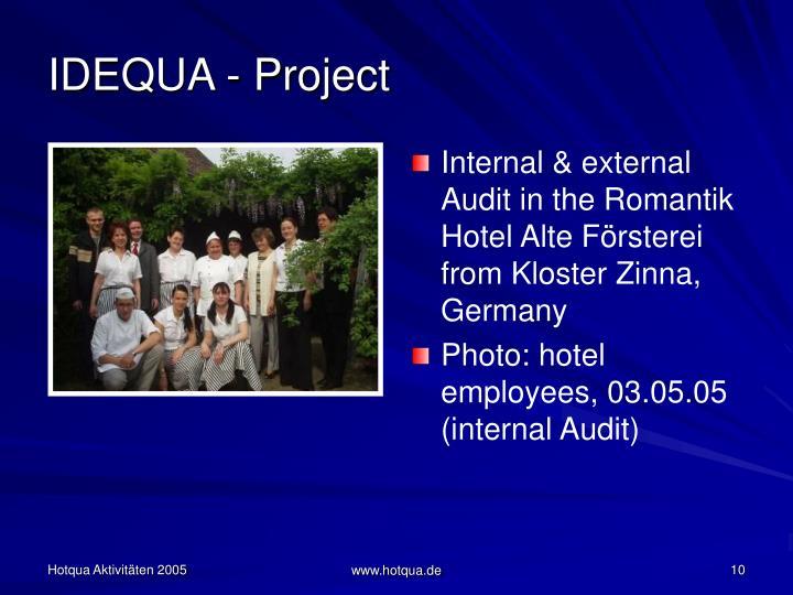 IDEQUA - Project