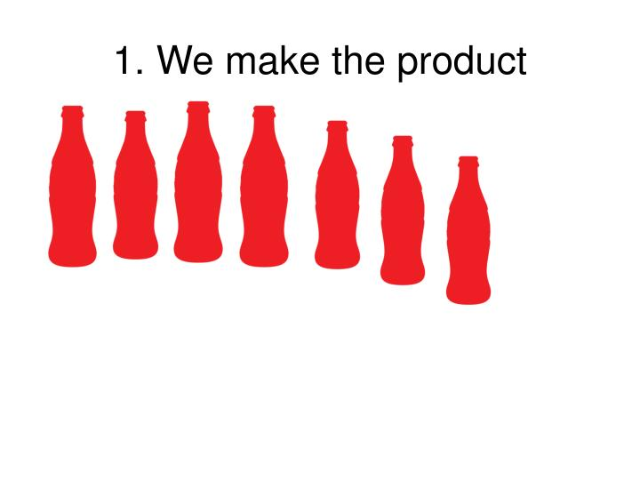 1. We make the product
