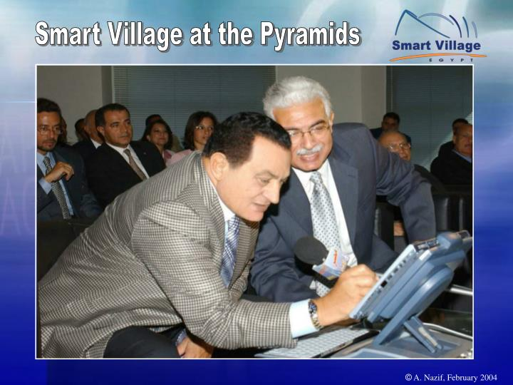 Smart Village at the Pyramids