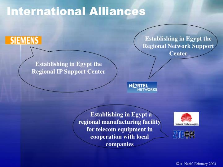 International Alliances