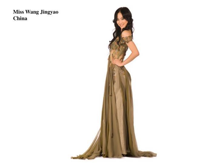Miss Wang Jingyao