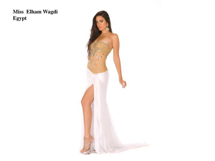 Miss  Elham Wagdi