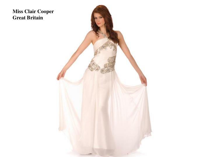 Miss Clair Cooper