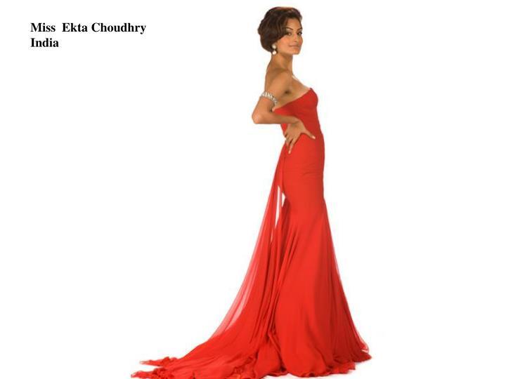 Miss  Ekta Choudhry