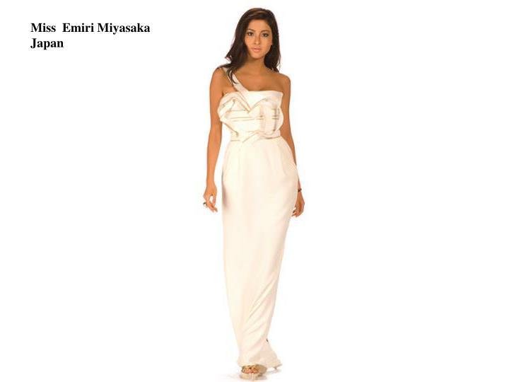 Miss  Emiri Miyasaka