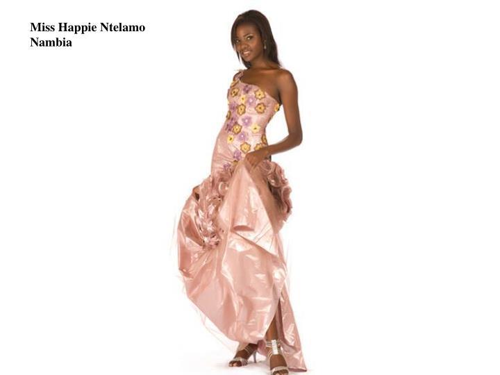 Miss Happie Ntelamo